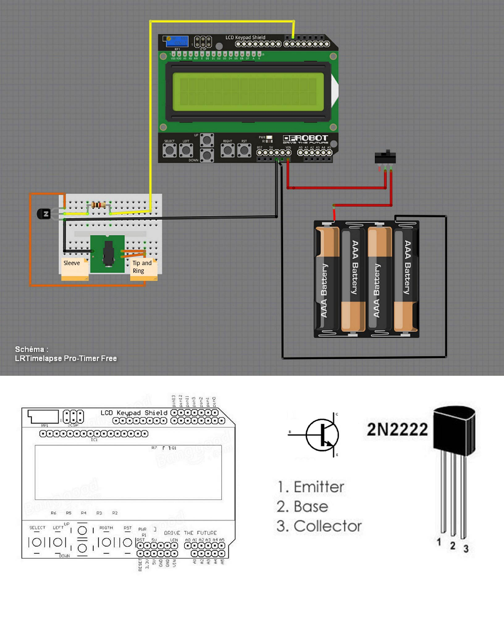 Lrtimelapse Pro Timer Free The Best Intervalometer Need A Litle Help Wiring Motor Doityourselfcom Community Forums We Only Display Shield For Now Will Recombine Arduino And When Were Done
